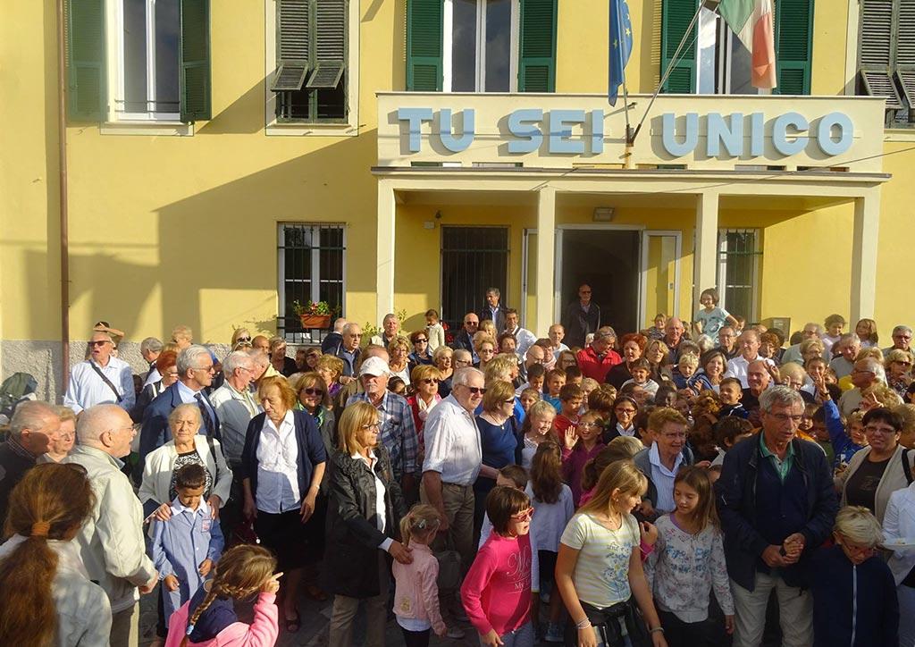 Scuola Maria Luigia entrata