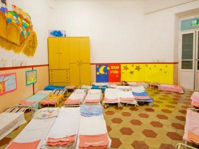 Scuola dell'infanzia angolo del pisolino