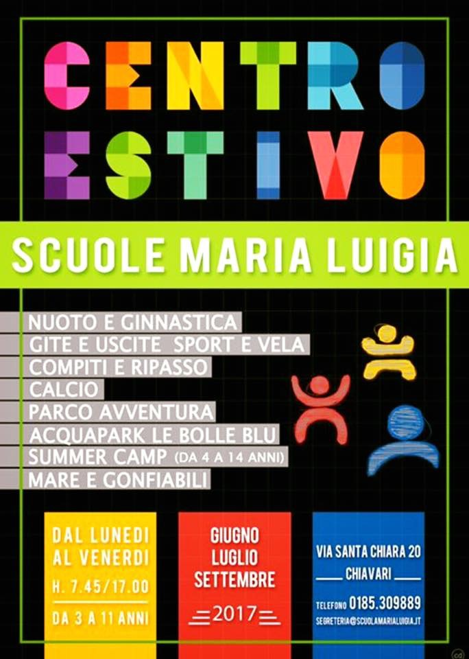Centro estivo Scuola Maria Luigia