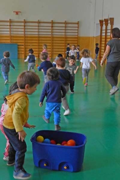 Laboratori della scuola dell'infanzia Maria Luigia