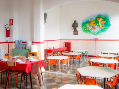 Sala da pranzo della Scuola dell'infanzia